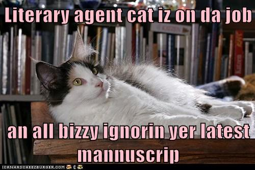 Literary-Agent-Cat-Iz-On-Da-Job
